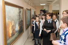 Выставка Студии военных художников имени М.Б. Грекова