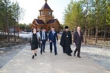 Визит врио губернатора ЯНАО  Дмитрия Кобылкина в Ноябрьск